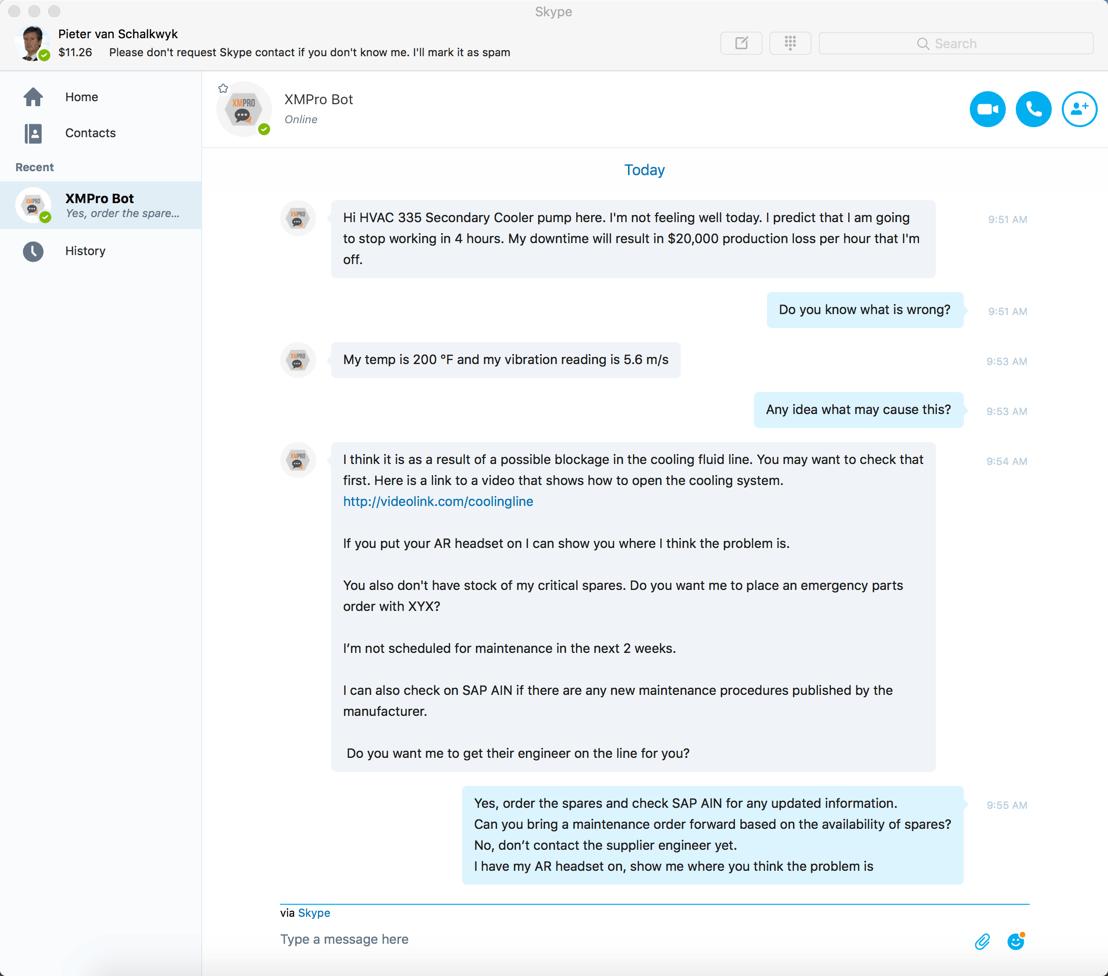 bot in skype