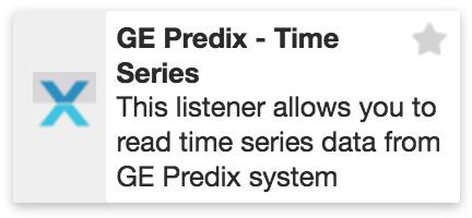 XMPro GE Predix Time Series Listener